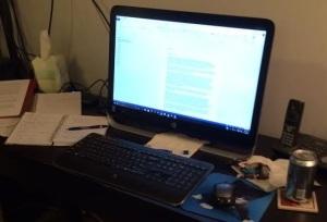 Writing Work Area